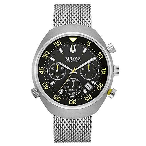 Bulova Men's 45mm Accutron II Snorkel UHF (Accutron Accutron Mens Watch)