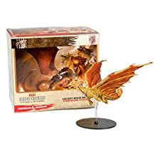 Dungeons & Dragons Miniature Figurines - Ancient Brass Dragon Figure - D&D Icons of the Realms: Tyranny of Dragons Promo