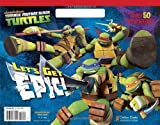 img - for Let's Get Epic! (Teenage Mutant Ninja Turtles) (Big Coloring Book) by Golden Books (2014-01-07) book / textbook / text book