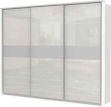 armario armario de puertas correderas Lepa 06, color: blanco – Dimensiones: 225 x 278 x 64 cm (H x B x T): Amazon.es: Bricolaje y herramientas