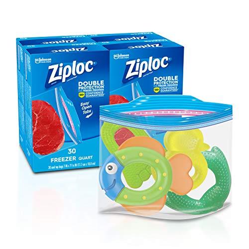 ziplock bags quart freezer - 6