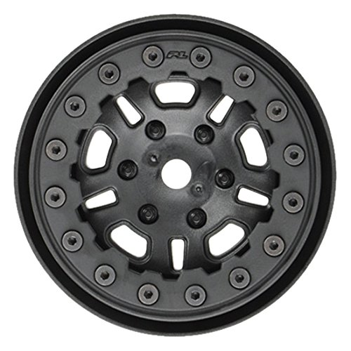(PROLINE 274815 Fault line 1.9 Black/Black Bead Loc 10 Spoke Front Or Rear Wheels)