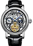 Best Binger Automatic Watches - Men Skeleton Dial Tourbillon Waterproof Stainless Steel Automatic Review