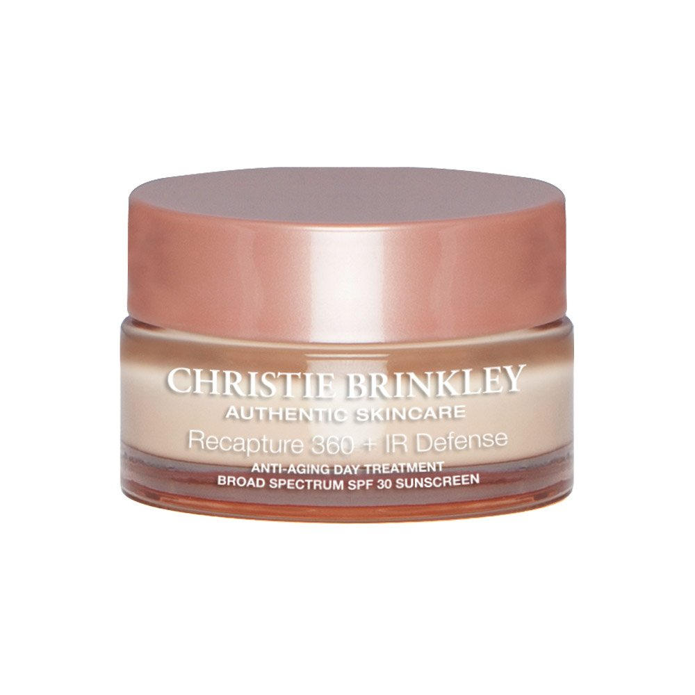 Christie Brinkley Authentic Skin Care Recapture 360+IR Defense Anti-Aging Day Treatment 1.0 oz