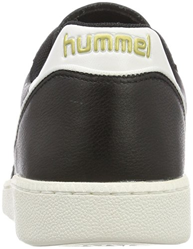 Adulto Unisex Hummel nero – Basse Team Ginnastica Quilt HB Scarpe da nHapzq