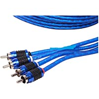 Stinger SI6420 20-Foot 4-Channel 6000 Series Audiophile Grade RCA Interconnect Cable