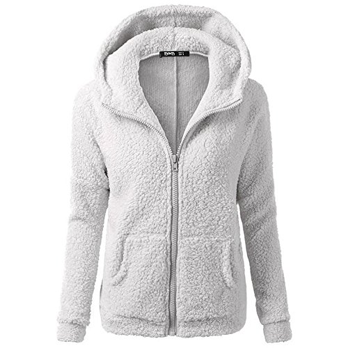 smartland-womens-winter-long-sleeve-full-zip-soft-fleece-hooded-jumper-hoody-jacket-coat-s-lightgray