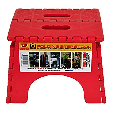 Ultra-Fab Products 56-978003 Step Stool Folding, 1 Pack: Automotive