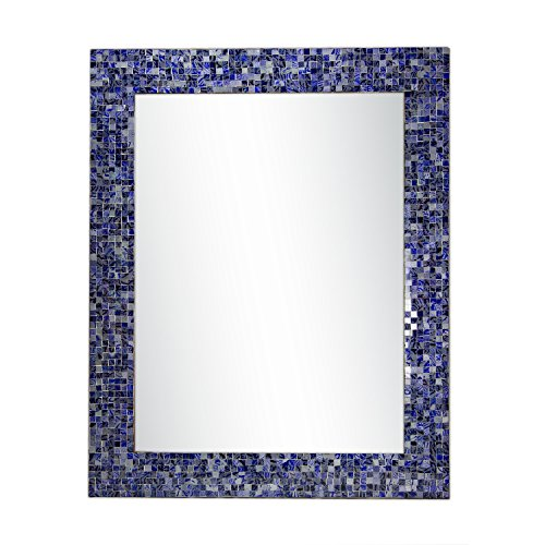 DecorShore  Glass Mosaic Framed Decorative Wall Mirror,