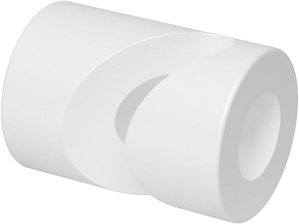 10x Stück Aufputz Kabelhalter Für Textilkabel Affenschaukel Decken Und Wandpin Weiß Baumarkt