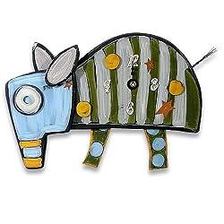 Whimsical Handcrafted Aardvark / Anteater Clock