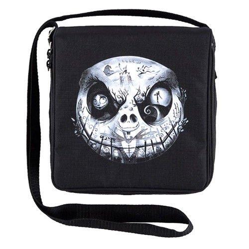 Disney Parks Jack Skellington Graveyard Face Pin Bag]()