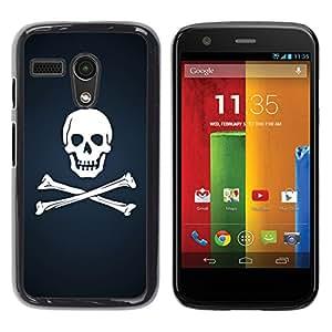 Impact Case Cover with Art Pattern Designs FOR Motorola Moto G 1 1ST Gen Skull & Bones Pirate Flag Betty shop