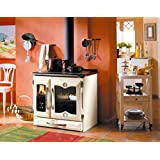 Wood Cook Stove La Nordica Suprema Cream, Made in Italy