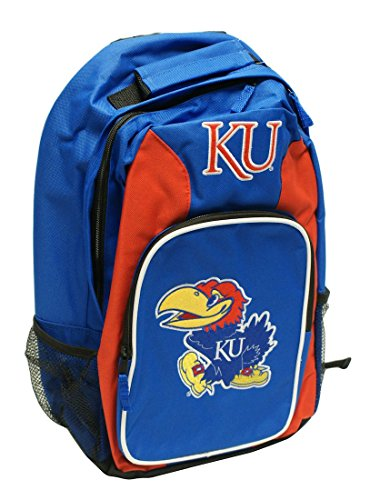 The Northwest Company Kansas Jayhawks Backpack Southpaw Style Royal Blue ()