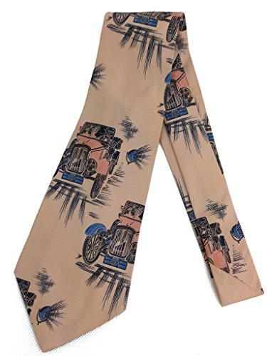 Wide 1950's Mens Necktie - 2