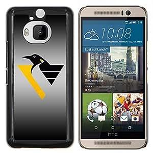 "Be-Star Único Patrón Plástico Duro Fundas Cover Cubre Hard Case Cover Para HTC One M9+ / M9 Plus (Not M9) ( Pingüino Crest"" )"