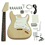Best Guitar Kits - Saga ST-10 Electric Guitar Kit - S Style Review