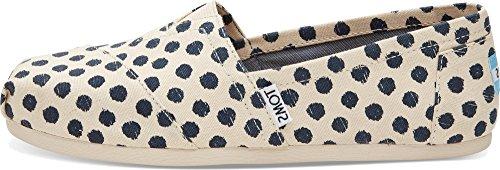 toms-womens-seasonal-classics-natural-navy-polka-dot-loafer