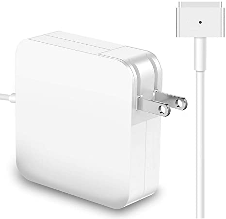 Mac Book Air Charger, 45W T-Tip Magsafe 2 Charger Adapter Replacement Power Adapter for Mac Book Air 11-inch and 13-inch Fit for Mid 2012 or Later