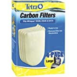 Tetra 26332 Whisper EX Carbon Filter Cartridges, Large, 4-Pack