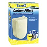 Tetra 26332 Whisper EX Carbon Filter Cartridges, Large, 4-Pack (Misc.)