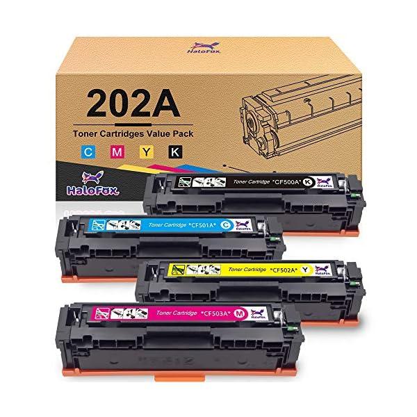HP toner raplacement color cartridges by HaloFox
