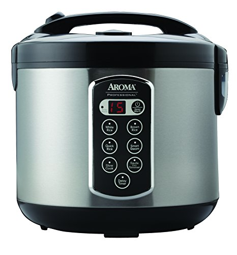 Aroma Professional Rice Cooker / Multicooker, Silver (ARC-2010ASB) by Aroma Housewares (Image #2)