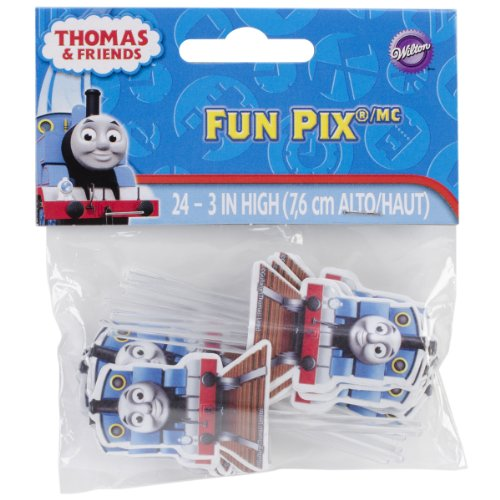 Wilton 2113-4243 Thomas and Friends Fun Cupcake/Cake Pix, 24-Pack for $<!--$3.40-->