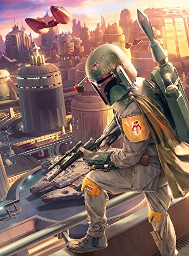(Star Wars - Fine Art Collection - Boba Fett - 1000 Piece Jigsaw)