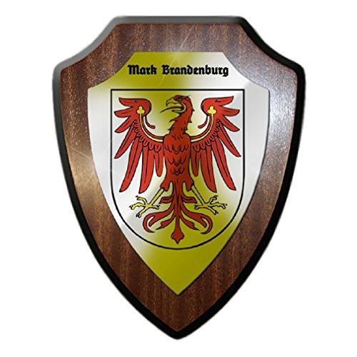 - Mark Brandenburg Electorate Holy Roman Empire Badge Eagle Middle Ages - Escutcheon / Wall Sign