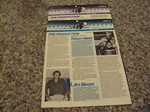 2 Iss Bantha Tracks Star Wars Fan Club # 13-14 1981 Joe Johnston ()