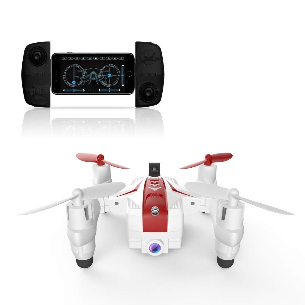 Likero Remote Control Drone AG-03S Foldable 720P Quadcopter,Headless 360 Mini Aircraft Battle Flips (Quadcopter (with Battery) x2) by Likero (Image #6)
