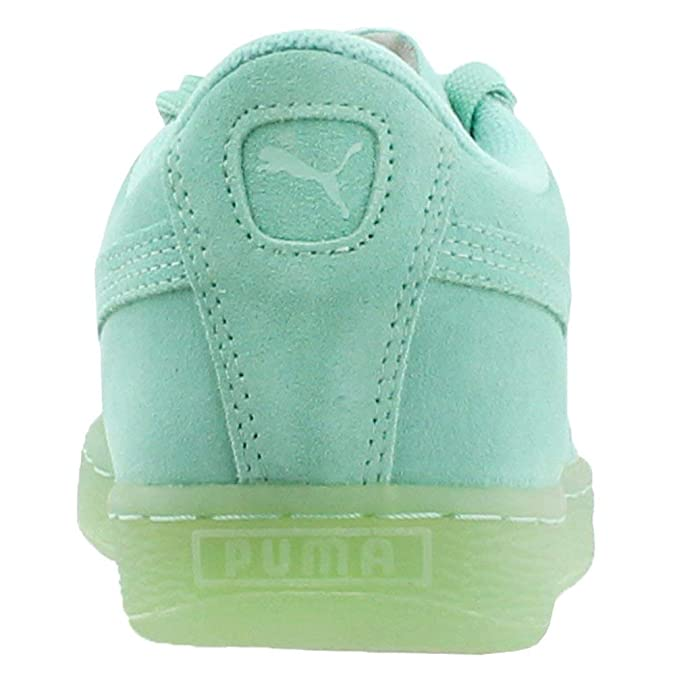 772ff164094f Amazon.com  PUMA Girls Suede Iced Jr Big Kid Low Top Fashion Sneakers  PUMA   Shoes