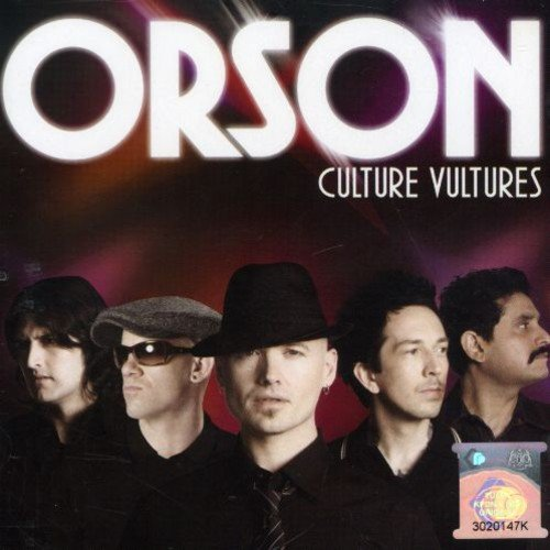 CD : Orson - Culture Vultures (Canada - Import)