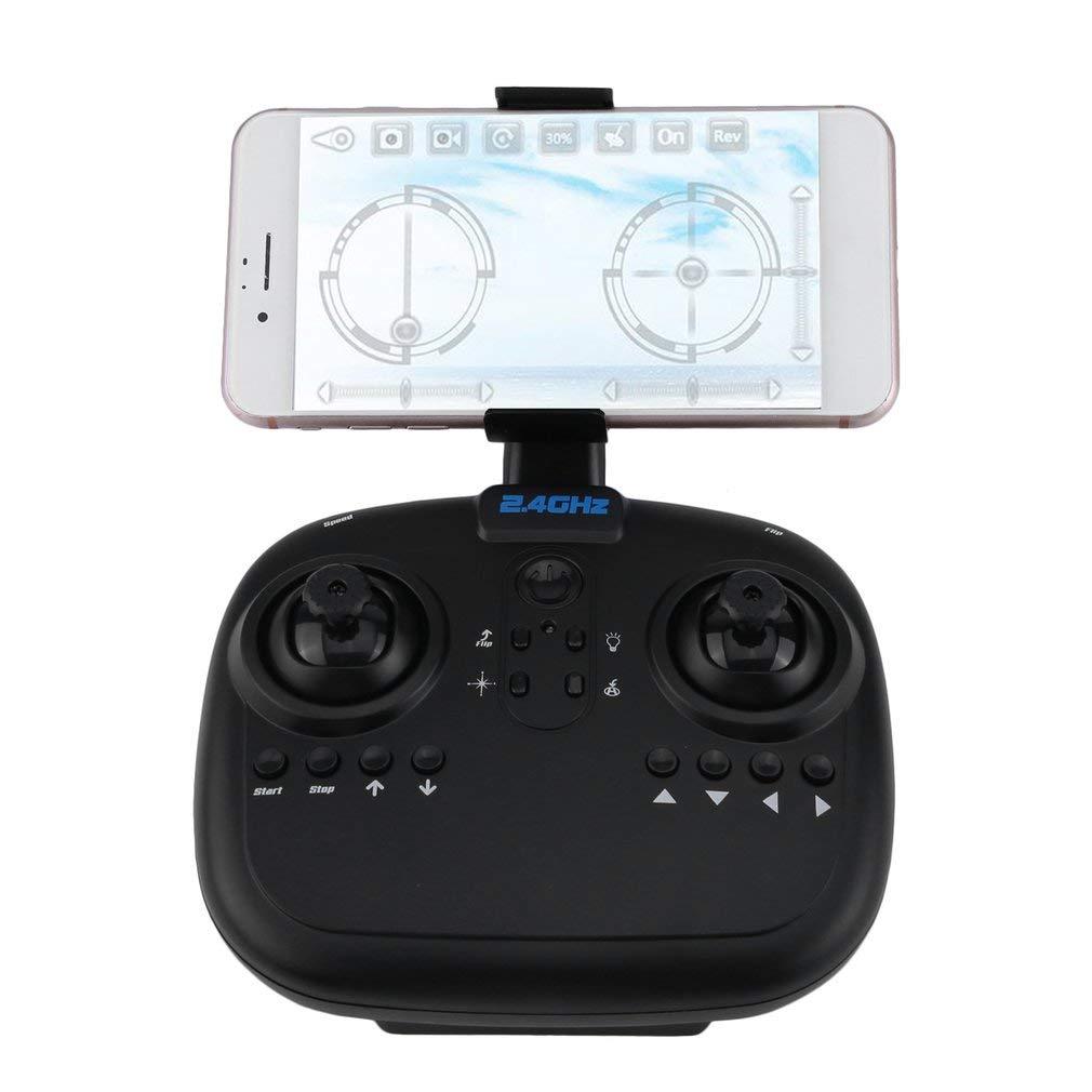 RC Quadcopter Drone WiFi FPV 2MP Kamera Klappbar 2.4 Gyro G 6-Achsen Gyro 2.4 13 Minuten Flugzeit (Grau) 519b8d