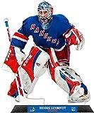 henrik lundqvist action figure - Henrik Lundqvist NY Rangers StandZ® Action Photo Desktop Display