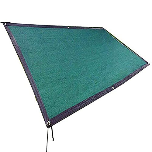 LIXIONG Pergola Cover Shading Netting Sunscreen Heat Insulation Polyethylene Durable Encryption Breathability Gazebo, Deep Green, 21 size Optional (Color : Deep Green, Size : 2 x 3m) by LIXIONG-pengbu