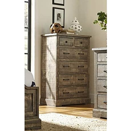 Progressive Furniture P632 14 Meadow Chest 38 X 18 X 55 Weathered Gray