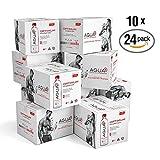 Agua Plus - Alkaline Water pH 9+ Bottled Water, .5 Liter (24 Pack) Bundle of 10 Cases