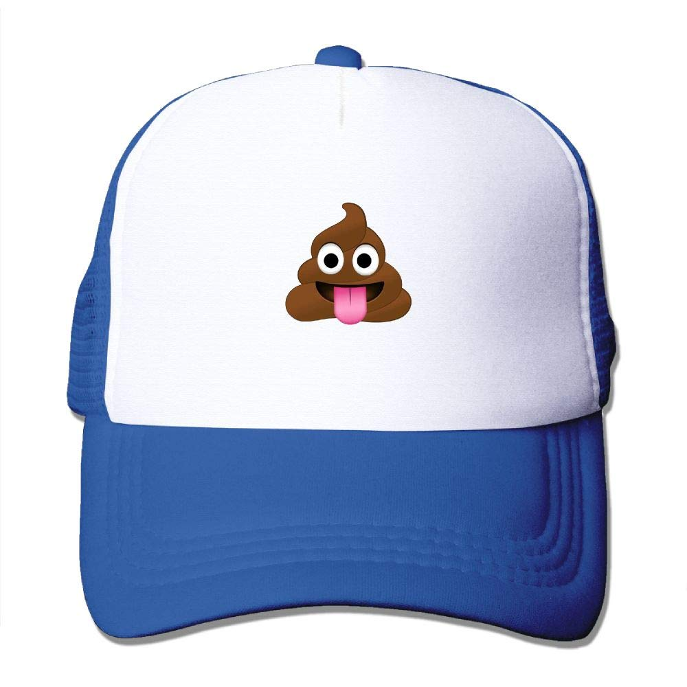 JimHappy Emojis Poop Smile Baseball Hat CapAdjustable Back Mesh Cap for Men and Women