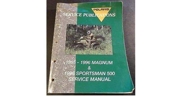 Bestseller  1995 Polaris Sportsman Service Manual