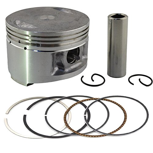 AHL Piston & Piston Rings Pin Clips Kit for Yamaha TTR230 TT-R230 2005-2015 (STD 70mm)