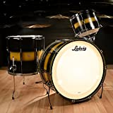 Ludwig Club Date Vintage 13/16/24 3pc Drum Kit Black/Gold Duco