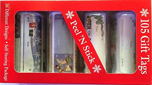 105 PeelN Stick Gift Tags