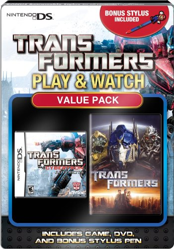 Play and Watch Transformers with Mario Stylus - Nintendo DS