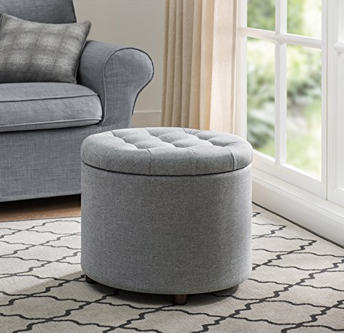 Sunjoy 120209002-G Indoor Ottoman, One Size, Gray Review