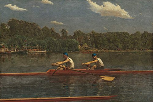 Fine Art Print   The Biglin Brothers Racing 1872   Thomas Eakins   Vintage Wall Decor Poster Reproduction   12in x 08in