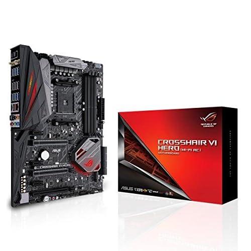 Asus AMD AM4 X370 ATX Placa base gaming con Aura Sync RGB LEDs DDR4 3200MHz 802 11ac Wi Fi M 2 USB 3 1 conector panel frontal y type A C