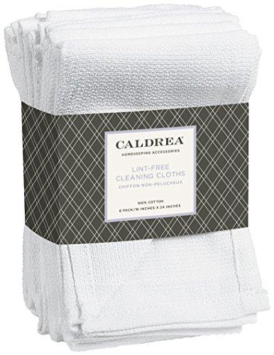 Lint Free Cloth (Caldrea Lint-Free Cleaning Cloths - 6 pk)